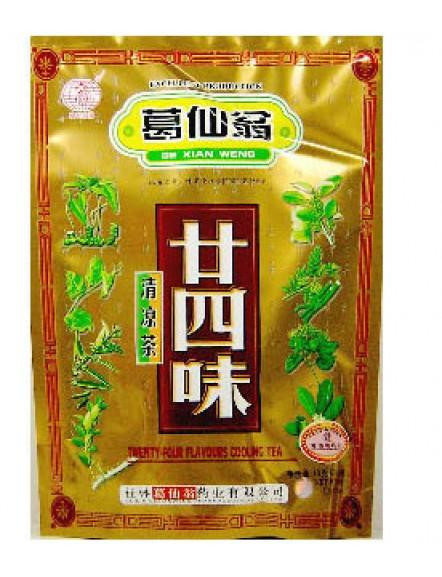 24 Flavours Cooling Tea 160g 葛仙翁二十四味