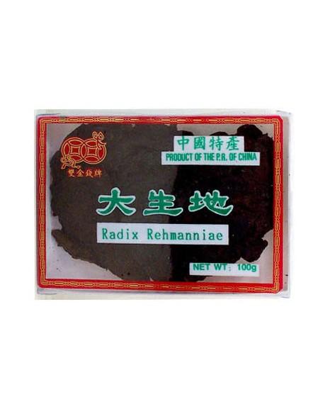 Radix Rehammaniae Cooked 100g 熟地片