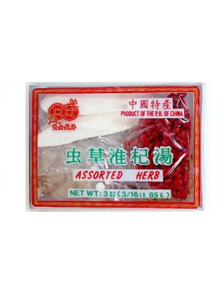 Tong Chao Tonic Soup Mix 85g 虫草淮杞汤料