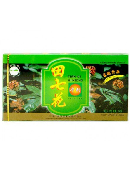 Tian Qi Ginseng Flower 14g 田七花精冲剂