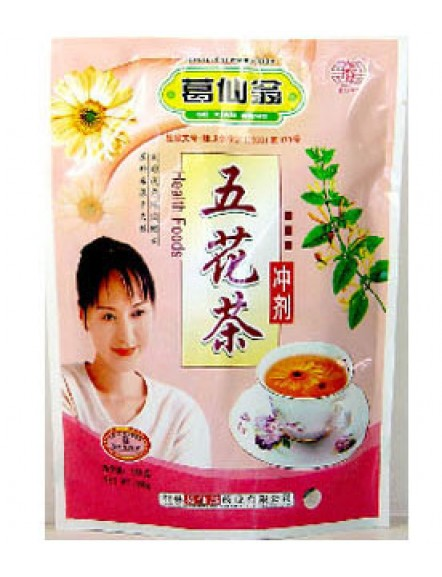 Wu Hua Cha Infusion 10g 五花茶冲剂