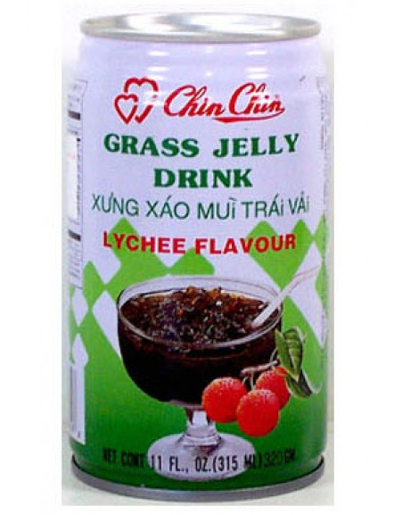 Grass Jelly-Lychee 330ml 仙草蜜荔枝味