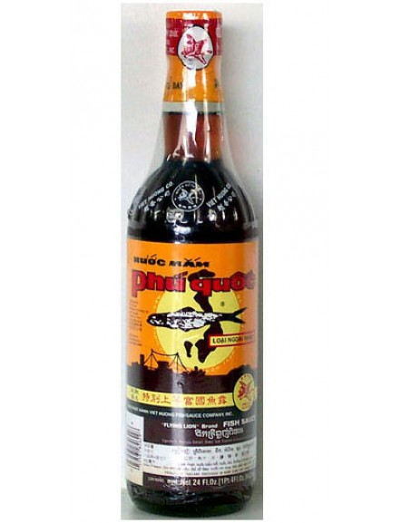 Flying Lion Fish Sauce 600ml 富国鱼水