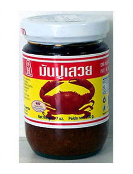 Crab Paste in Bean Oil 200g 浸油蟹羔
