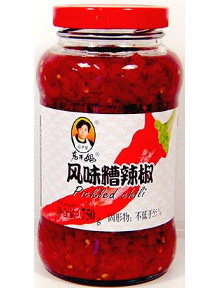 Pickled Chilli 老干妈风味糟辣椒(750g)