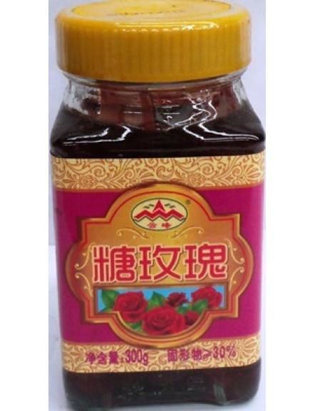 Rose Flower Sugar 云峰牌 玫瑰花糖浆