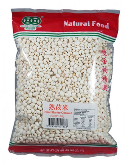 Pearl Barley Cooked 80g 熟苡米