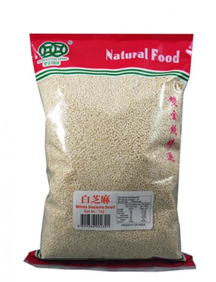 White Sesame Seed 1kg 白芝麻