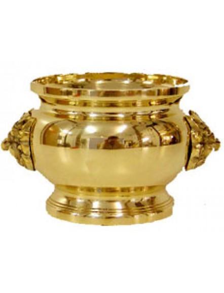 Brass Joss Pot 3.5&quot 铜香炉