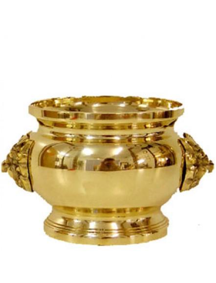 Brass Joss Pot 4&quot 铜香炉