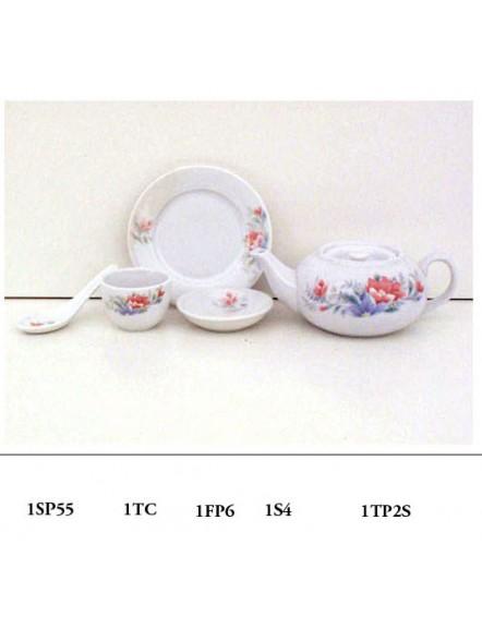 001 Teapot#2,short  柿形壶