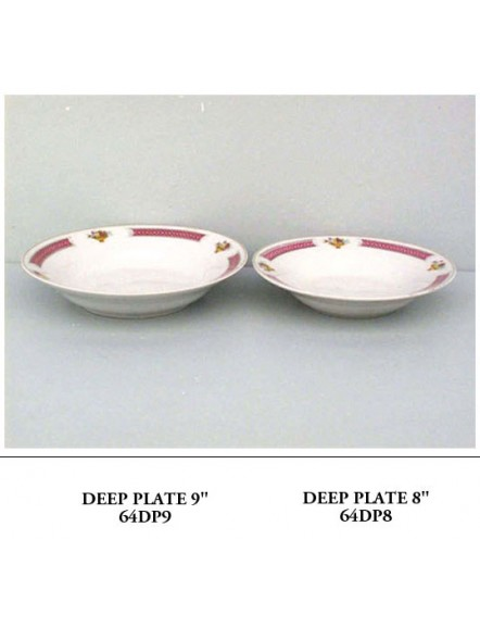 6409 Deep Plate 9&quot 深碟