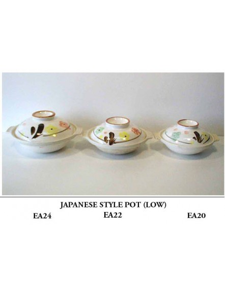 Japanese Style Pot,A24,low 矮日式沙煲