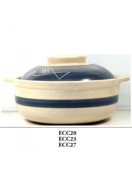 Clay casserole 23cm 彩色沙煲