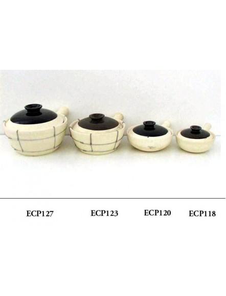 Clay Pot,1handle 23cm  单柄沙煲