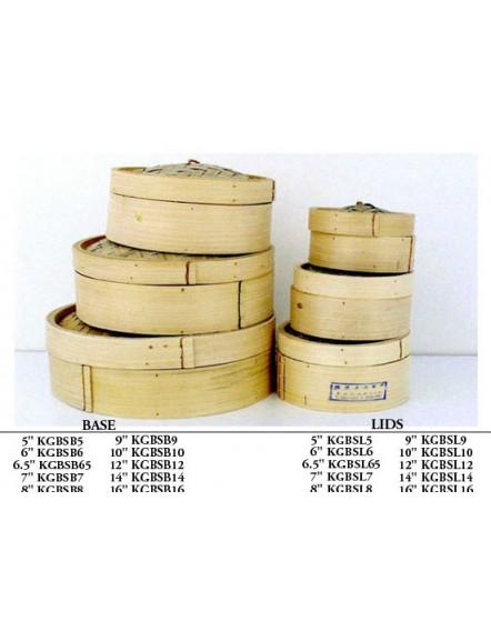 Bamboo Steamer Base 6.5&quot 竹蒸笼底