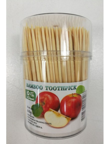 Toothpick in Container 60g竹牙簽(筒) (60g)
