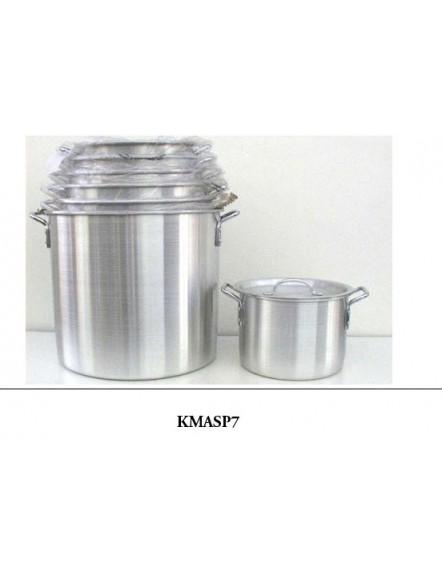 Aluminium Stock Pot 七头铝深锅