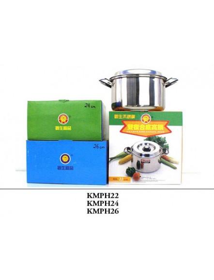 Cooking Pot S/S,26cm,high 不锈钢煲-高