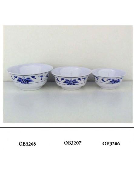 Blue L 3206  蓝荷厚碗