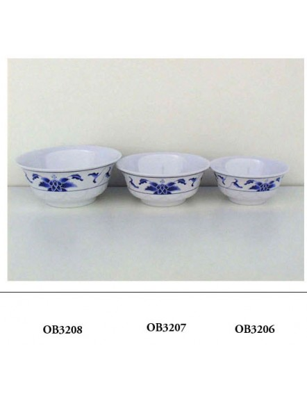 Blue L 3208  蓝荷厚碗