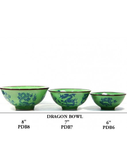 Dragon Bowl 6&quot 龙碗