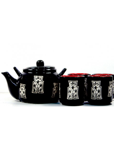 Japanese Teaset-Black A 小黑人茶具