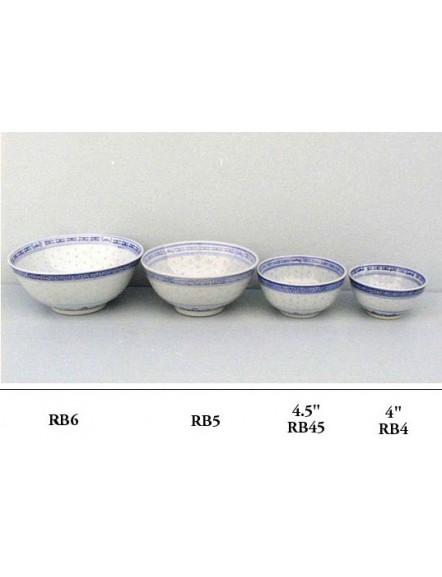 Rice' Soup Bowl 6&quot  米通企口碗