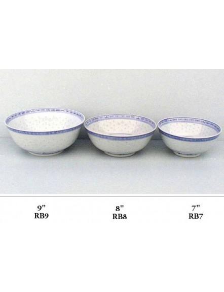 Rice' Soup Bowl 9&quot 5pcs 米通企口碗