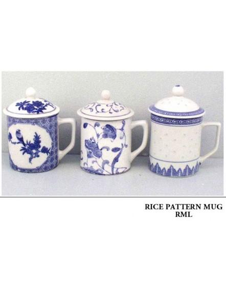 Rice' Mug &amp Lid 米通有盖杯