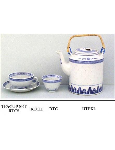 Rice' Teacup w/ Handle 米通有耳茶杯