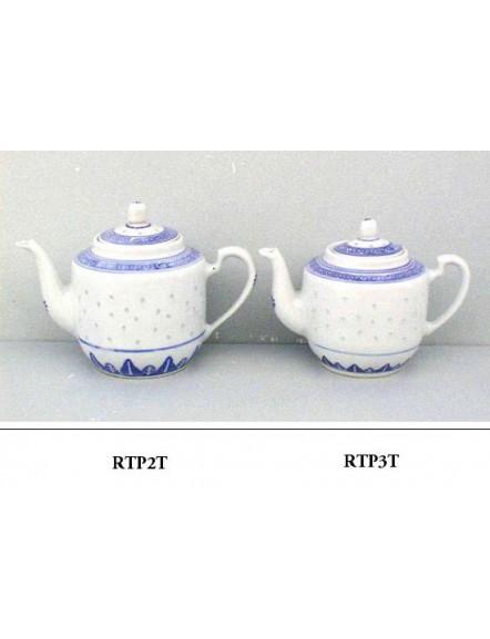 Rice' Teapot,tall #2  米通合壶