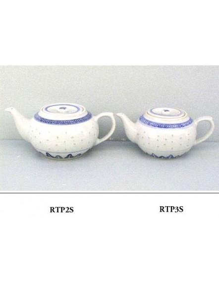 Rice' Teapot,short #3  米通柿形壶