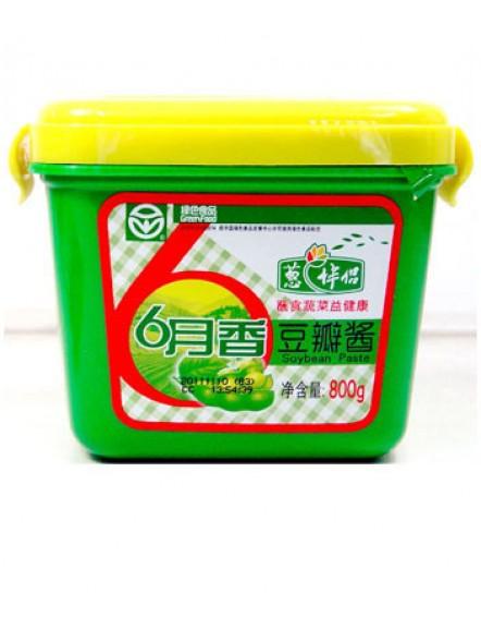 Soya Bean Paste 800g 月香豆瓣酱