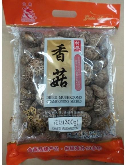 Dried Mushroom 300g 金燕牌香菇