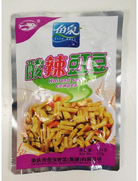 Hot & Sour Cowpea鱼泉酸辣豇豆
