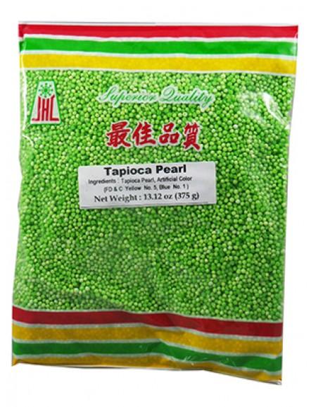 Tapioca Pearl w/ Green 375g 香叶沙谷米