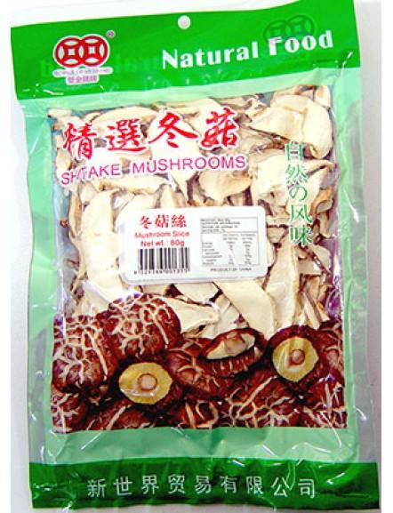 Mushroom Slice 80g 冬菇丝