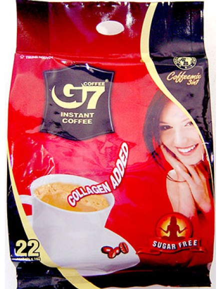 G7 Coffee w/Collagen G7二合一(无糖+胶原)咖啡