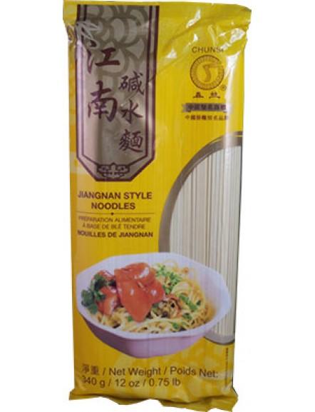 Jiangnan Style Noodles 春丝牌江南碱水面 (340g)