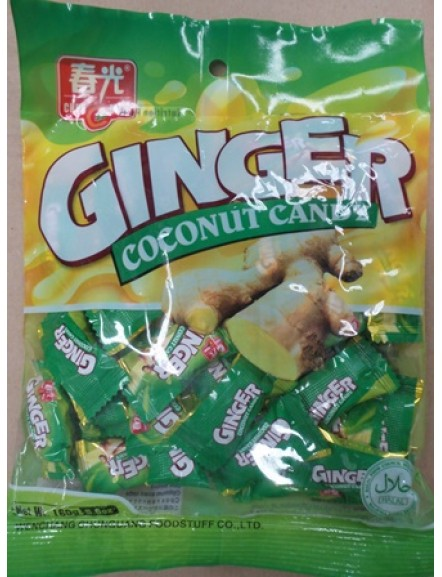 Ginger Candy 160g 春光姜汁糖