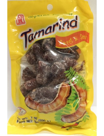 Perserved Tamarind (Spicy) 200g 无壳酸子(辣)
