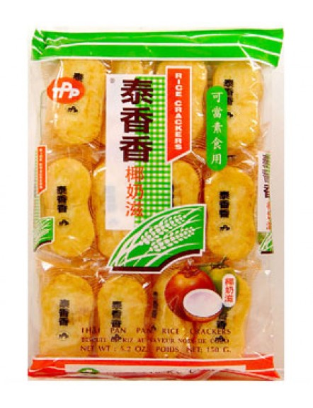 Rice Cracker- Coc 150g 泰香香椰奶滋