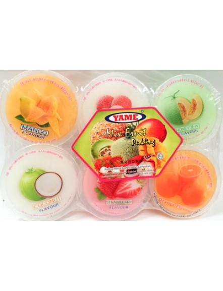 Mixed Pudding with Nata YAME 杂果小椰果布丁
