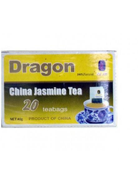 Jasmine Tea(2gx20bag) 龙牌茉莉花茶