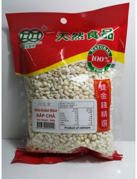 Dried Broken Maize 400g 白玉米