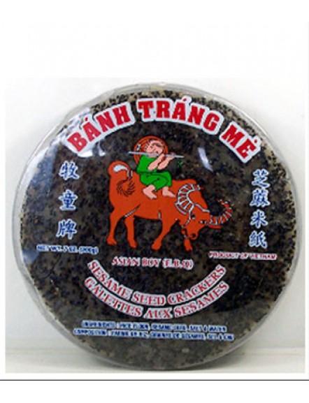 Rice Paper, Black Sesame 200g 黑芝麻米纸