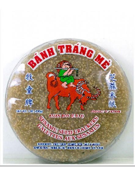 Rice Paper,White Sesame 200g 白芝麻米纸